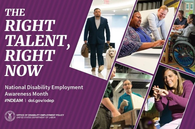 2019 National Disability Employment Awareness Month Poster