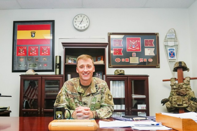 Col. Kyle Marsh, USMA Class of 1992, returned to the U.S. Military Academy this summer as the Brigade Tactical Officer.