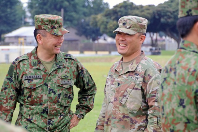 Japan, U.S. Medics tackle realistic combat casualty care