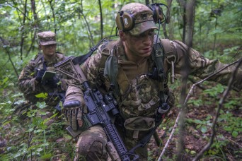 Ohio Army National Guard's Infantry Regiment tackles combat during training