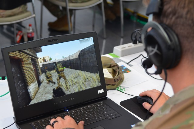 Soldiers from the 2nd Infantry Brigade Combat Team, 4th Infantry Division supported the Army's Ground Vehicle Systems Center Virtual Experiment #3 last month to help inform the Next Generation Combat Vehicle Cross Functional Team's campaign of learning for Manned and Un-Manned Teaming.