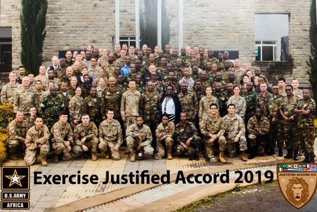 A Company, 50th ESB-E participates in Justified Accord 19-031