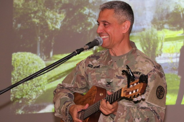 Landstuhl Regional Medical Center's Hispanic Heritage Month observance on Oct. 8 featured Col. Manuel Pozo-Alonso, commander of Dental Health Command Europe as its guest speaker.
