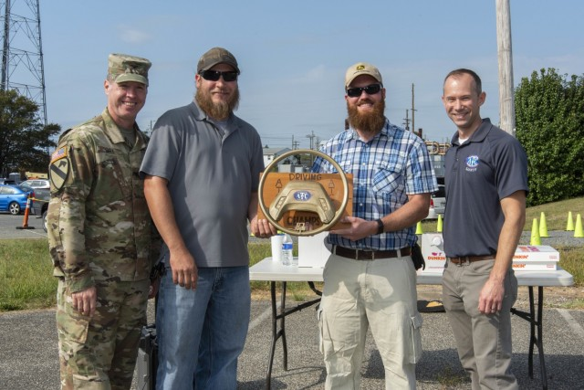 Friendly competition, driving safety focus of U.S. Army Aberdeen Test Center's Safe Driving Roadeo