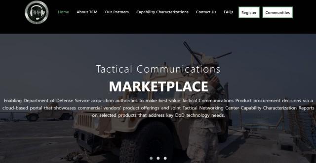 JTNC Tactical Communications Marketplace