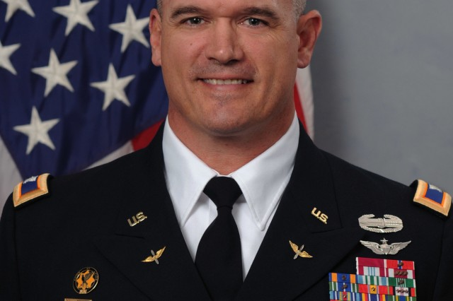 Col. Shawn Pricket, former U.S. Army Aviation and Missile Command Chief of Staff.