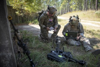 82nd Airborne tests new portable robot for individual Soldiers