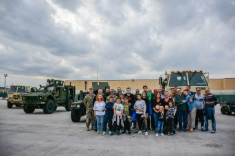 Vicenza For Children gets behind-the-scenes pass with U.S. Army on Caserma Ederle