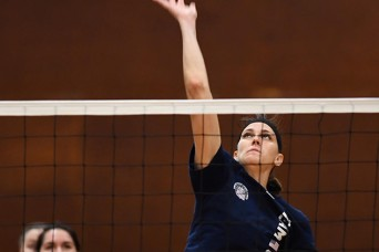 Army volleyball player recovers from ACL injury in time for Military World Games