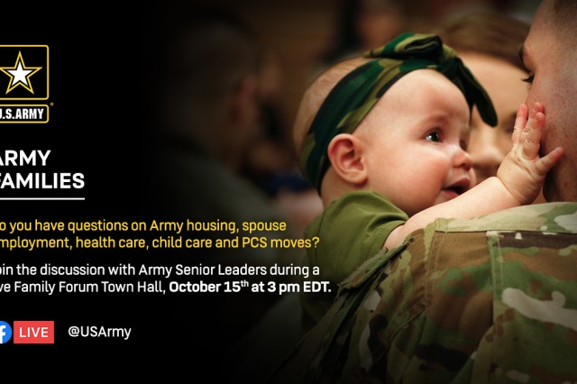 This year's Family Forums offer unique opportunities to hear from the Army's Senior Leaders about the foundation of our Army -- People, and the Chief of Staff of the Army's quality of life priorities: housing, health care, child care, spouse employment, and Permanent Change of Station moves.