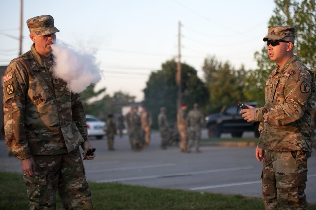 The Army and Air Force Exchange Service and the Navy Exchange have stopped selling vape-related products. AAFES removed vape-related products from its shelves Sept. 30. Navy Exchange Service Command removed products from NEX retail shelves and directed NEX concessionaires and vendors to discontinue the sale of vaping products after Oct. 1.