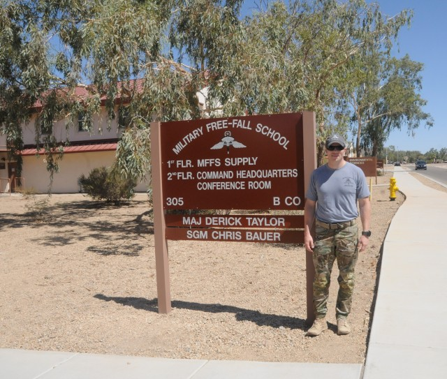 Dynamic new Free Fall commander hits ground running