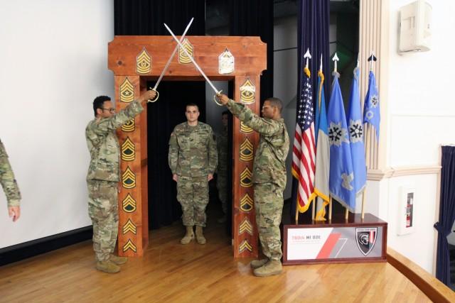 SGT Hornbeck, 780 MI BDE NCO Induction ceremony