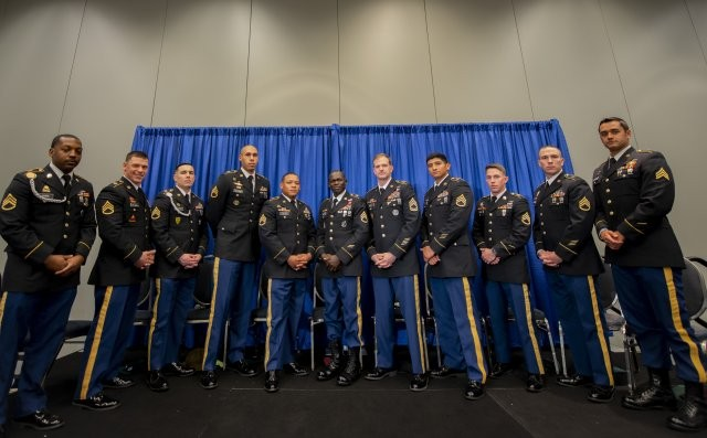 1st Special Forces Group Soldier receives Army's new Expert Soldier Badge