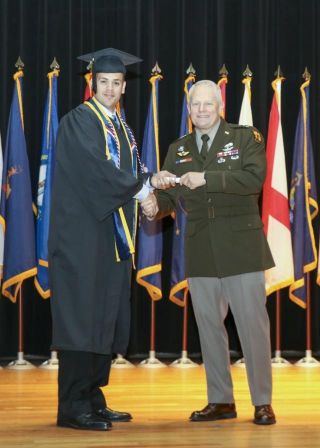 Fort Knox College Graduation Ceremony