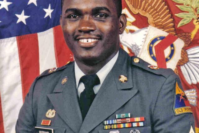 Sgt. Lionel Husband, stationed at Storcks Barracks, Illeshiem, Germany, in 1998.