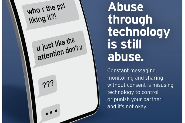 Technology abuse in relationships highlighted during Domestic Violence Awareness Month - blog post image