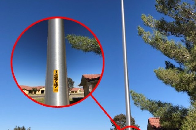 Mountain Vista Communities and the Directorate of Public Works' Housing Services Office work closely with Sulphur Spring Valley Electric Cooperative to ensure street lights on Fort Huachuca are working properly throughout the neighborhoods on post. Inoperable street lights can be reported to the MVC Maintenance Office or the HSO Service Order Desk by using the pole number. (U.S. Army photo illustration by Angela Camara)