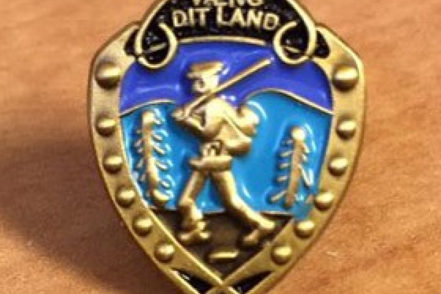 The Norwegian Foot March, or Road March badge (in Norwegian it is Marsjmerket) is a Norwegian Armed forces skill badge. It was created in 1915 for the purpose of exposing new soldiers to the conditions one might expect as a soldier in the field.