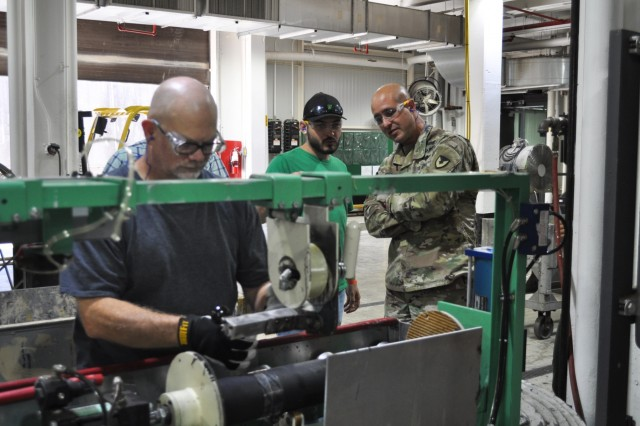 Crane Army repairs and ships emergency mortars to warfighter