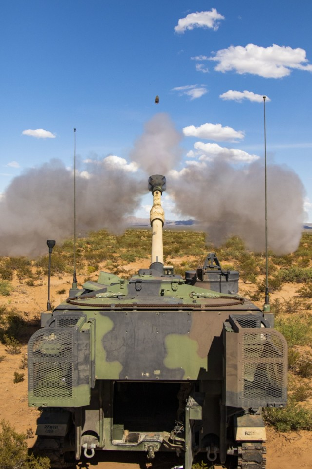 MCAAP rapidly reworks 155mm rounds to win the 'Ammo Readiness War'