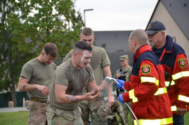 USAG Ansbach Soldiers Conduct Law Enforcement Training