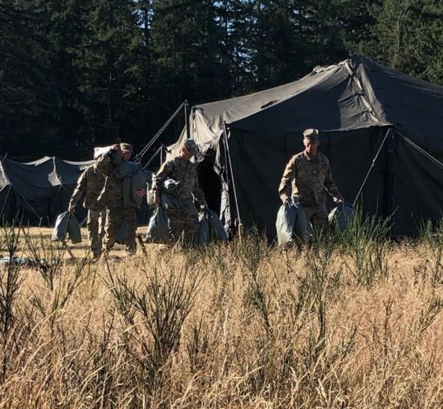Lancer Brigade sets up Expert Soldier Badge lanes