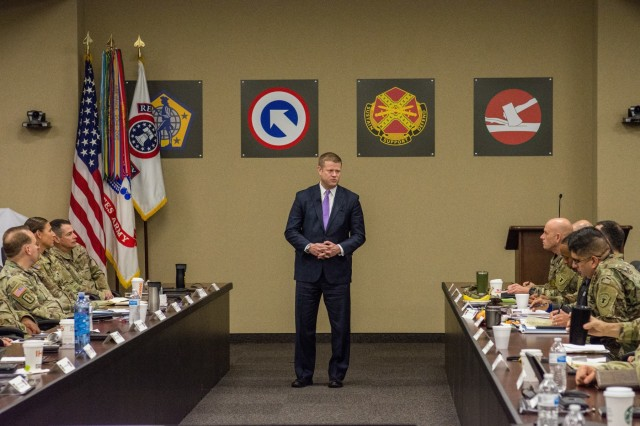 Secretary of the Army Speaks at USAREC ALTC