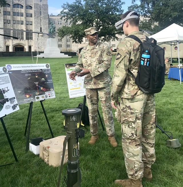 West Point cadets learn about Army Acquisiton Corp as possible career option