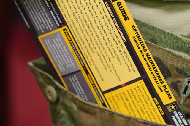 Picture of the Hip-Pocket Guide in a hip-pocket.