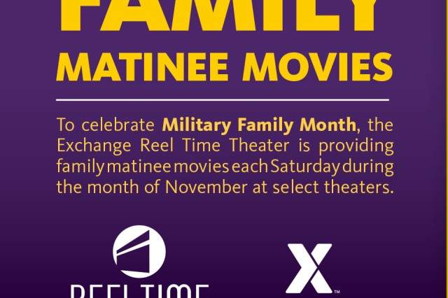 The Army & Air Force Exchange Service will have a variety of opportunities for military shoppers to save, win and celebrate during Military Family Month.