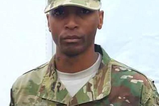 U.S. Army Staff Sgt. Carlus Ross, September 28, 2017. (Photo courtesy of U.S. Army Staff Sgt.  Carlus Ross)