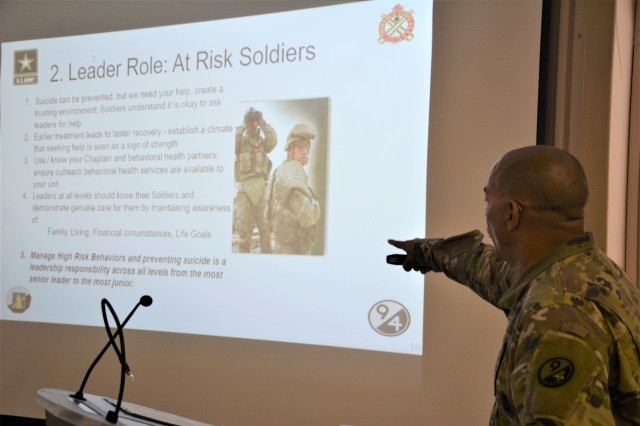 Ordnance Soldier Surpasses Peers During 94th Division Instructor of the Year Competition