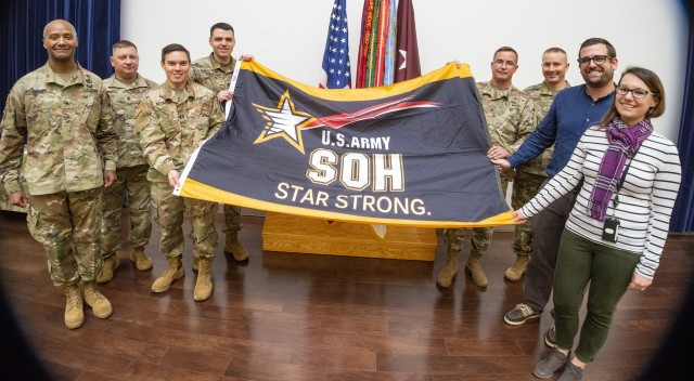 USARIEM receives Army Star Strong Award