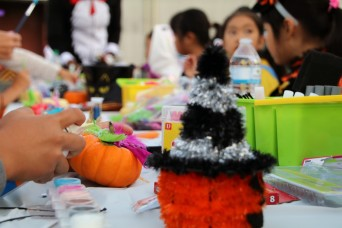 38th ADA volunteers make Halloween special for the community