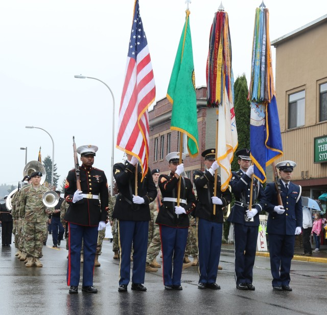 JBLM units support local Veterans Day events