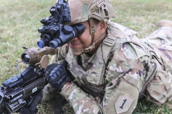 1st Infantry Division first to field new night vision equipment