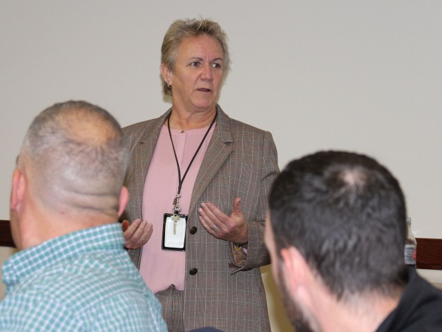 Whicker addresses Intern Boot Camp