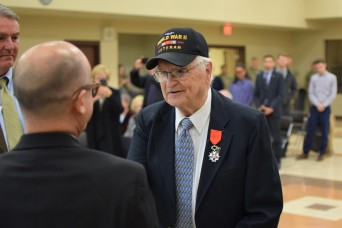 Omaha veteran honored by France for WWII service