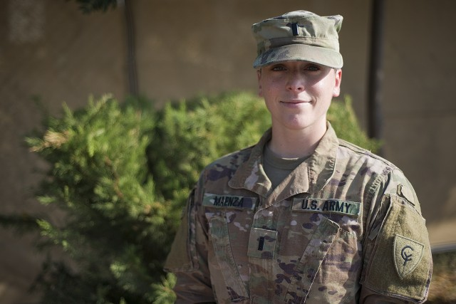 Aurora, Illinois resident serves in the Middle East supporting Task Force Spartan