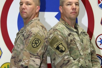 Third time's a charm: Twin brothers deploy together again