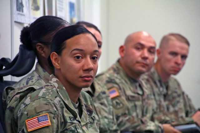 FCoE command team engages the 38th ADA Brigade