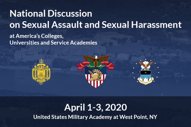 This spring, the secretaries of the Army, Navy and Air Force will meet in New York on the campus of the U.S. Military Academy at West Point, for a second series of discussions on the prevention of and response to sexual assault and sexual harassment on college campuses nationwide.