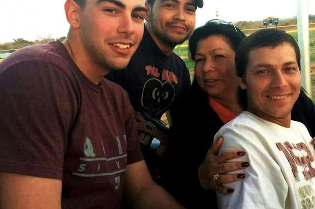The Hanson Family, March 1, 2014. (Photo courtesy, retired U.S. Army Spc. Ralph Hanson.)