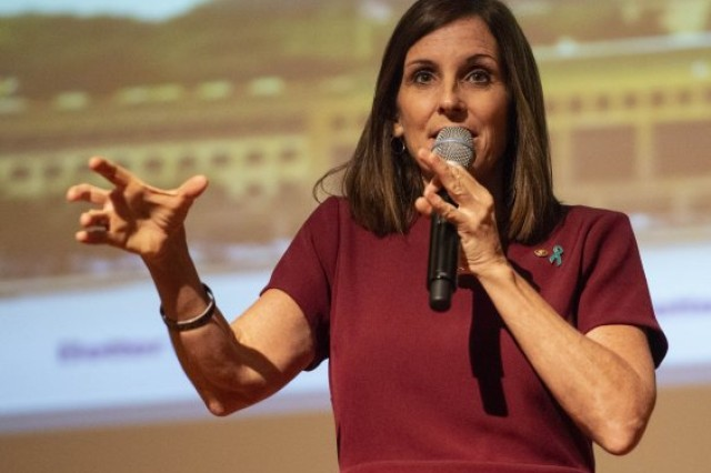 Arizona Sen. Martha McSally challenges service institution leaders to re-examine how leadership responsibilities are assigned to cadets and midshipmen.