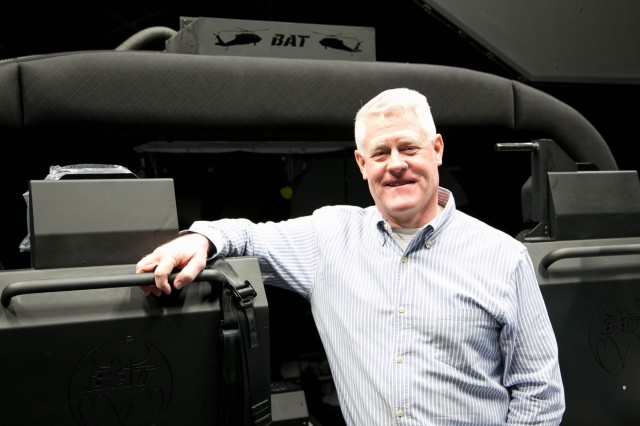 Jody Creekmore is the aviation trainer branch chief for the U.S. Army Combat Capabilities Development Command Aviation & Missile Center's Systems Simulation, Software and Integration Directorate. He served in the Army for 35 years.