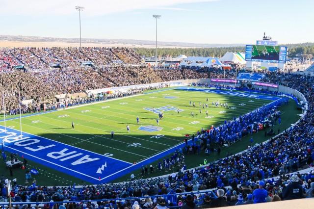 Army vs. Air Force Academy at Falcon Stadium in Colorado Springs, Colorado Nov. 2, 2019. (U.S. Army photo by Brandon O'Connor)