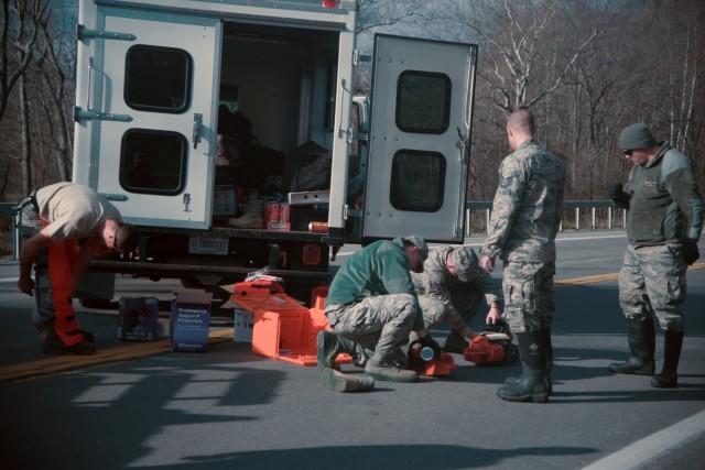 New York Guardsmen Respond to November Storm