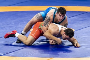 Wrestlers medal at Military World Games