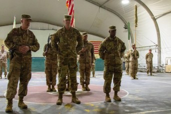 Resolute Support Sustainment Brigade transfers authority to 1st Armored Division